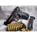 Seguridad Pistolas Traumaticas Balas De Caucho 9mm