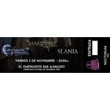 Mandoble, Slania Y Cadencia Nocturna - Noctorium Fest