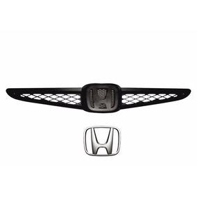 Grade Parachoque Dianteiro Honda Fit 2003 / 2006 + Emblema