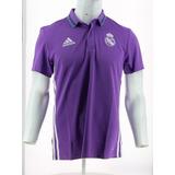 Remera Polo De Fútbol Hombre adidas Real Madrid