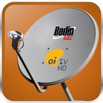 Antena 60cm Ku Bedin Sat Oi Tv Hd