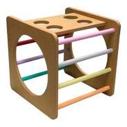 Cubo Trepador Montessori Juguetes De Madera Didácticos