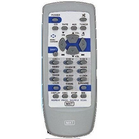 Controle Remoto Similar Som Cce Áudio System Md-3300