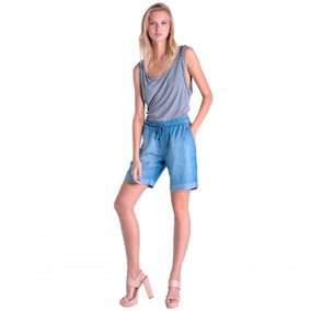 Bermuda Jeans Mid Feminina Ana Hickmann 20062