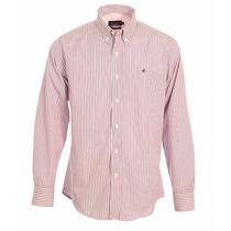 Camisa Brooksfield Hombre Algodón Rayada Elegante B03245z