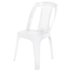 Cadeira Plástica Poltrona Bistrô Paris P/ 150kg Para Igreja