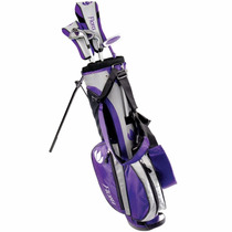 Set De 5 Palos De Golf Intech Flora Junior C/ Bolsa Maleta