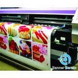 Impressão De Lona, Adesivo, Faixa E Banner Em Alta Def - M²