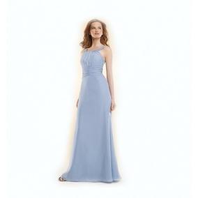 Lilasori Vestido De Fiesta Importado Color Azul Talla 7 O 30