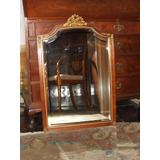 Antiguo Espejo Frances Luis Xvi Biselado Comoda Dressoir