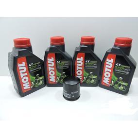 Kit Troca Oleo / Filtro Fram Kawasaki Z 750 Motul 5100 15w50