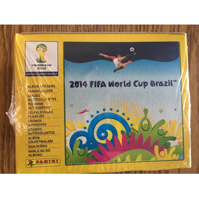Caixa 50 Envelope Album World Cup Copa 2014 Panini