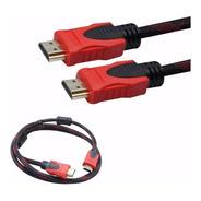 Cable Hdmi A Hdmi 1,5 Mts Mallado - Tv Notebook V 1.4