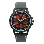 Reloj Zeit  Hombre  Tacto Piel  Gris - Cb00019145