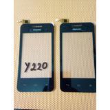 Tactil Huawei Y220 Negro Nuevo Y Original