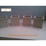 Cotillones 10x10 Cajas Adornos Recuerdo En Mdf Al Crudo.