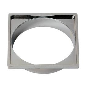 Porta Grelha Quadrado Cromado 150mm