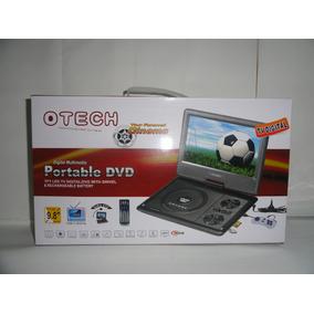 Dvd Portatil Tela 9 Tv Digital Jogo Mp3 Suporte Encosto Gira