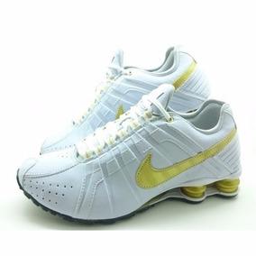 Nike Shox Preto Junior Preto Shox Dourado Tênis no Mercado Livre Brasil f4f267