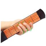Practica Guitarra Entrenador Portátil 6 Trastes Pocket