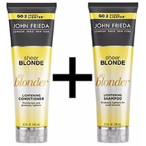 Kit John Frieda Sheer Blonde Shampoo + Condicionador 250ml