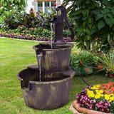 Fuentes De Agua Para Jardin En Mercado Libre Chile - Fuentes-agua-jardin