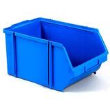 Caixa Plástica Gaveteiro P/ Parafusos Azul / Preta Nº 3 Und