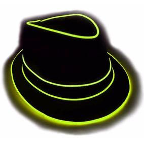 Glowcity Sombrero Fedora De Luz Premium N-am 9d80fedac96