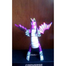 Alebrije Dragon De Madera Tallado A Mano 20 Cm