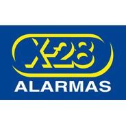 Kit Alarma X28 8 Zonas Central Teclado Controles Sensores