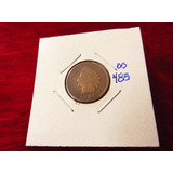 Bb#485 Indian Head One Cent Usa 1901
