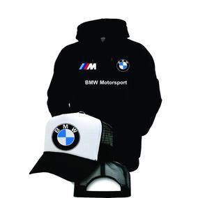 Kit Moletom Bone Trucker Bmw M3 Motorsport Blusa Promoção!!