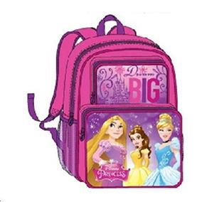 Disney Princess Mochila Bolsa De Escuela Grande 16 \rapunze