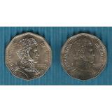 Brillantes Sin Circular: 50 Pesos Chile 2002 Y 2006 Unc C904
