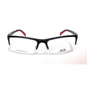 Oakley Armação Metal Plate Em - Óculos Preto no Mercado Livre Brasil 075d74be80