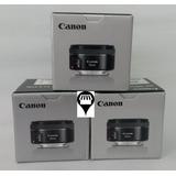 Lente Canon 50mm F/1.8 Stm Entrega Inmediata T6 T6i 80d T5i