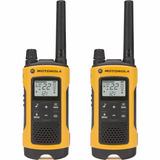 Radio Comunicador Talkabout 35km T400br Amarelo Motorola Nfe