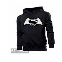 Blusa Moletom Batman Vs Surperman Mega Promoção
