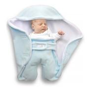 Porta Enfant Manta Doble Polar Abrigo Bebé Nómade 0-6 M+