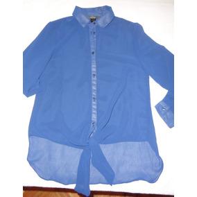 Camisa De Gasa De Mujer