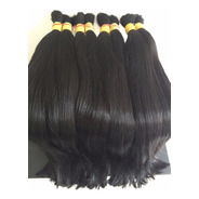 Cabelo Natural P/ Mega Hair Liso 60-65cm 100g. O Melhor