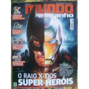 Revista Mundo Estranho Edição 152 - Raio X Dos Super-heróis
