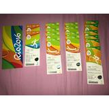 Ingressos Colecionáveis Olimpíadas Rio 2016!