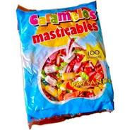 Caramelos Masticable Bolsa 100un - Barata La Golosineria