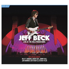 Jeff Beck Live At The Hollywood Bowl 2 Cd + Blu Ray Stock
