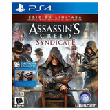 Assassins Creed Syndicate Edición Limitada Ps4 Disco Físico