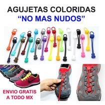 Agujetas De Colores Para Zapatos O Tenis Envío Gratis