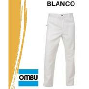 Pantalón De Trabajo  Ombu  Blanco Original Dist. Oficial