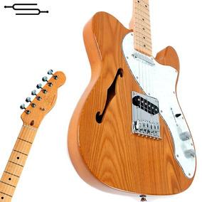 Guitarra Electrica Sx Telecaster Thinline American Natural