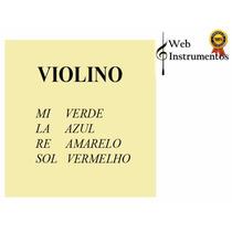 Jogo Cordas Violino Mauro Calixto 4/4